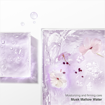 Moisturizing and firming care Musk Mallow Water
