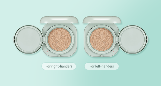 For right-handers, For left-handers image