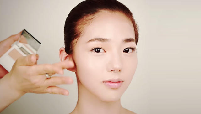 Small face makeup STEP 1 Image