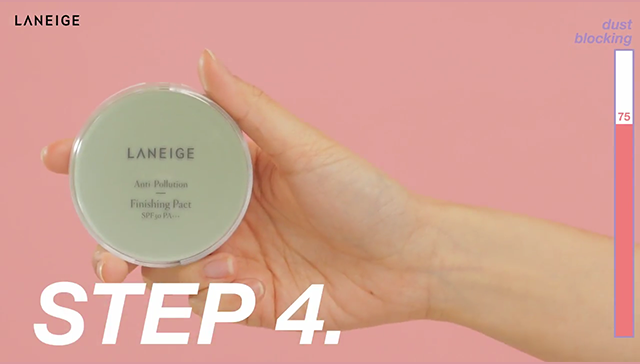 Anti-dust makeup to stay fresh against particulate matter step4 image