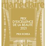 Marie Claire prix d'excellence de la beaute 2021