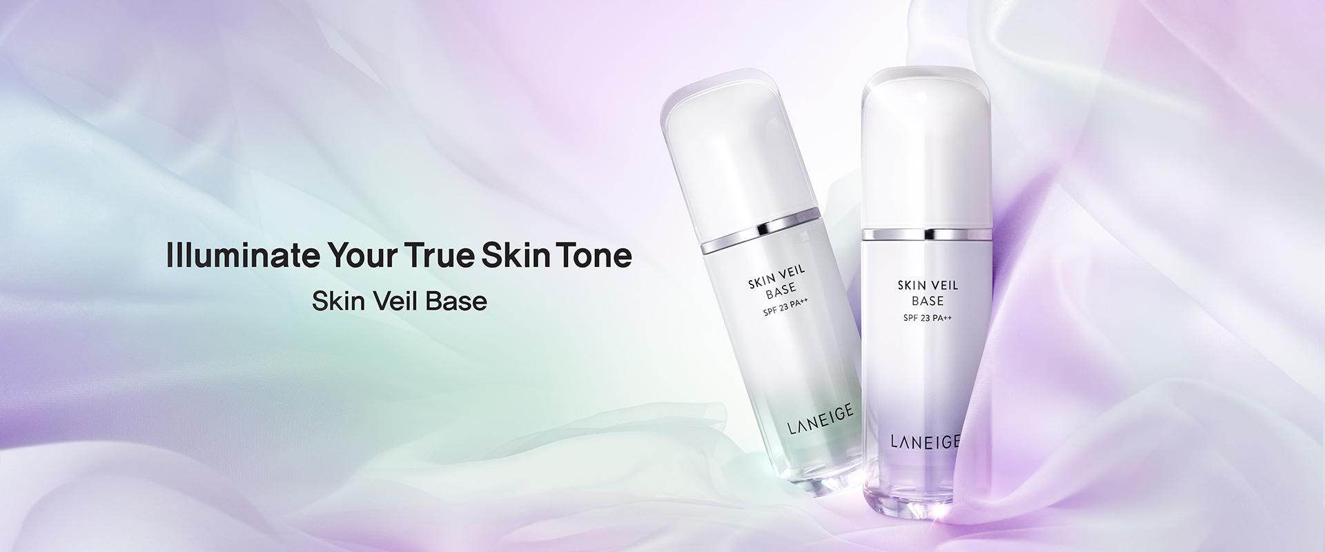 Illuminate Your True Skin Tone - Skin Veil Base