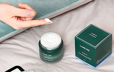 Sleeping beauty leader LANEIGE<br>introduces Cica Sleeping Mask!