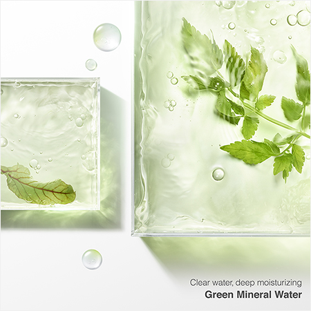 Clear water, deep moisturizing Green Mineral Water