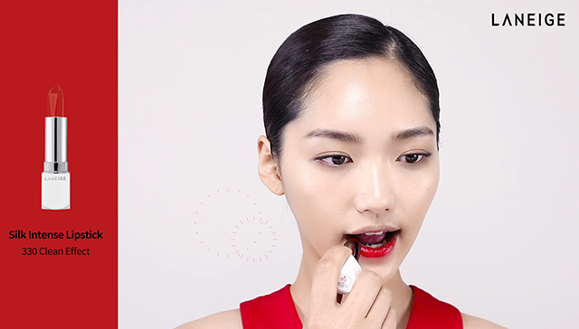 3-ways Red Lip Makeup step1 image