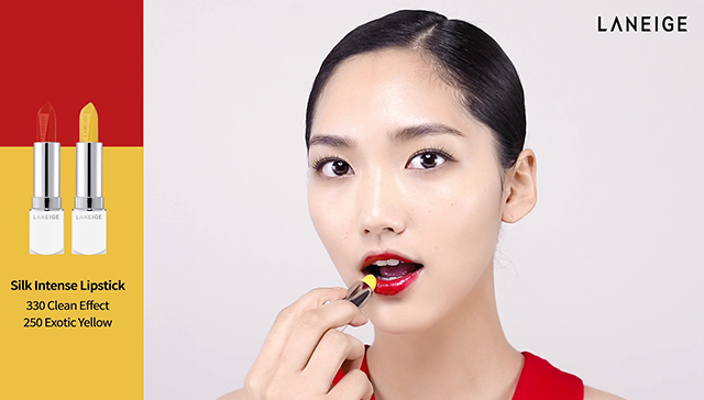 3-ways Red Lip Makeup step2 image