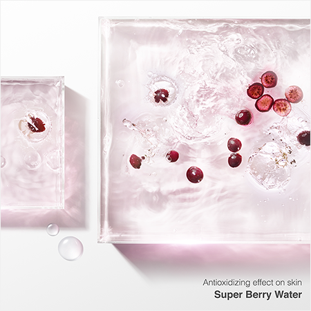 Antioxidizing effect on skin Super Berry Water