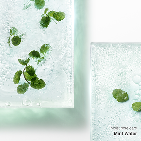 Moist pore care Mint Water