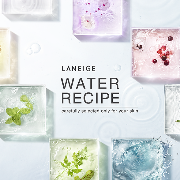 LANEIGE WATER RECIPE - carefully selected only for your skin