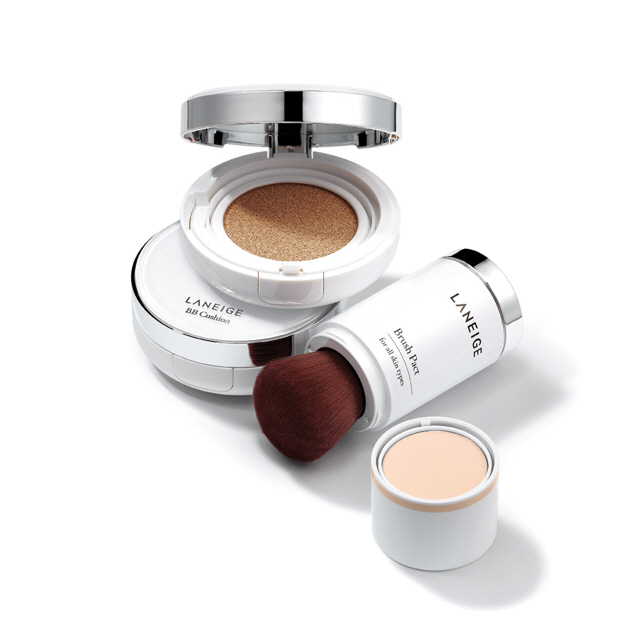 Laneige BB Cushion + Brush Pact No.1
