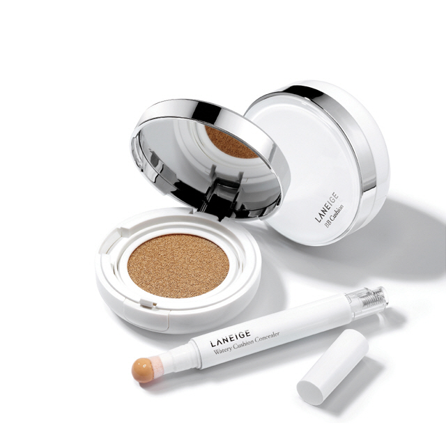 Laneige BB Cushion + Watery Cushion Concealer