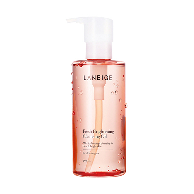 Fresh brightening cleansing oil