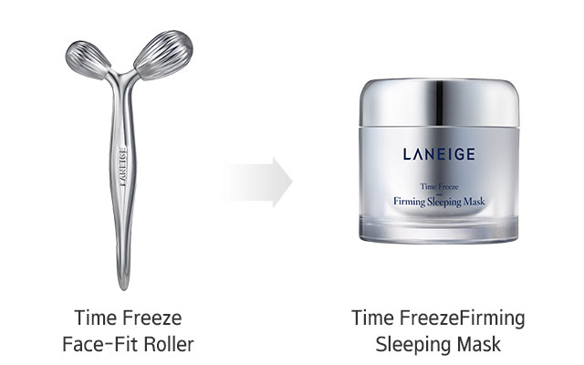 Time Freeze Face-Fit Roller Beauty tips image