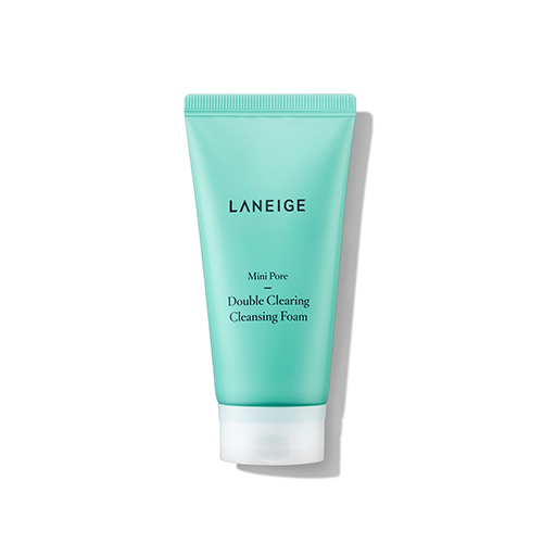 Mini-Pore Double Clearing Cleansing Foam