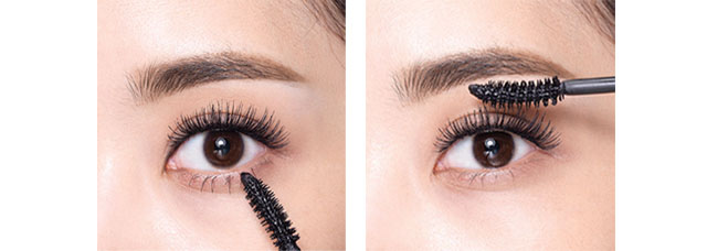 Lash-fessional Mascara: How to use - Step 1. Curling image