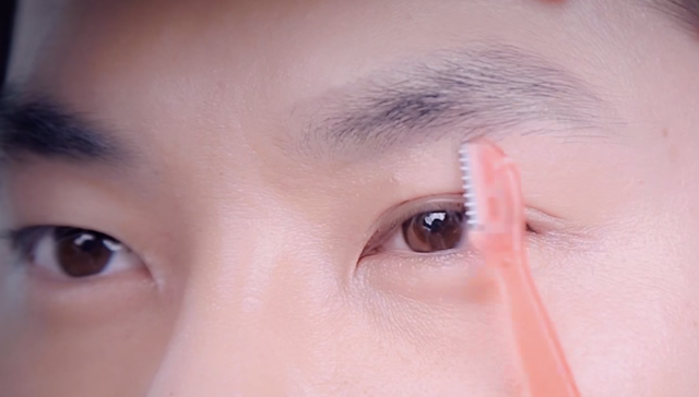 How to make handsome brow for summer holiday STEP 2 Image